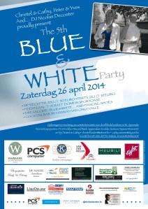 Blue&White affiche