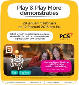 PCS website play promo online