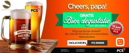 PCS Knokke  Vaderdag Bier Degustatie op zaterdag 13 juni